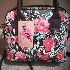 NWT floral crossbody by Betsey Johnson